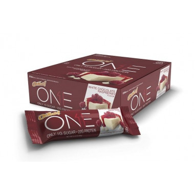 Bar Oh Yeah! ONE  sabor Chocolate Branco com Framboesa 60 g