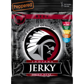 Peppered Indiana Jerky Beef Jerky 25 g