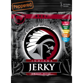 Peppered Beef Jerky Carne Curada Indiana Jerky 25 g