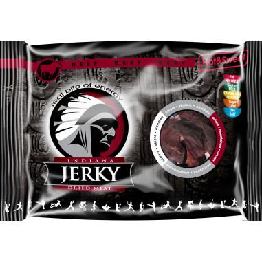 Hot & Sweet Beef Jerky Carne Curada Indiana Jerky 100 g