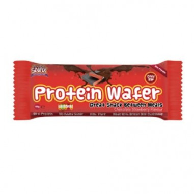 Protein Wafer Chocolate y Fresa - Barquillos Protein Snax
