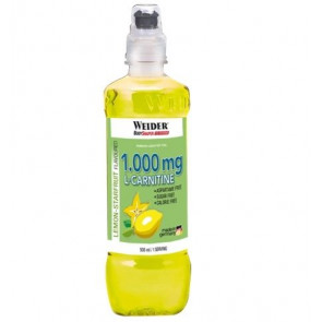 Bebida L-Carnitine Drink 1000 mg Sabor Limão-Carambola Weider 500 ml