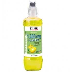 Bebida L-Carnitine Drink 1000 mg Sabor Limón-Starfruit Weider 500 ml