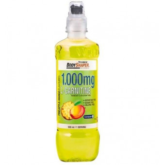 Bebida L-Carnitine Drink 1000 mg Sabor Piña-Mango 500 ml