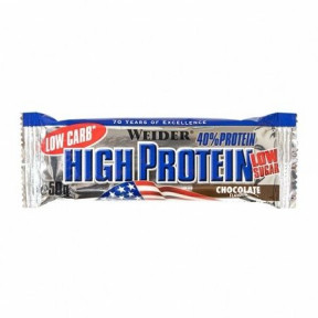 40% Low Carb High Protein Bar Weider Chocolate 100 g