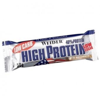40% Low Carb High Protein Bar Weider Latte Macchiato 100 g