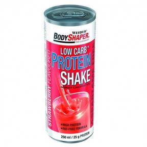 Low Carb Protein Shake Sabor Morango  250 ml