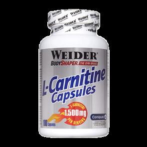L-Carnitine Caps 100 Cápsulas de 1.500mg Weider