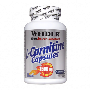 L-Carnitine Caps 100 x 1.500mg Weider
