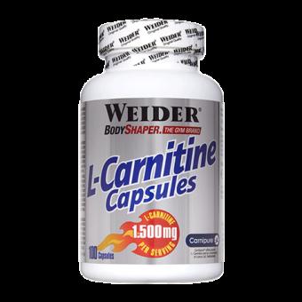 L-Carnitine Caps 100 Capsulas de 1.500mg Weider