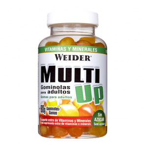 Multi Up Multivitamínico Multimineral de Weider 80 gominolas