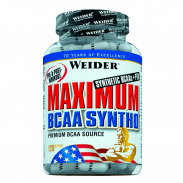 Weider Maximum BCAA Syntho 120 cápsulas