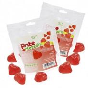 LCW low carb gummies corações vermelhos 100 g
