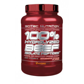 Scitec Nutrition 100% Hydrolyzed Beef Strawberry Cream 900 g