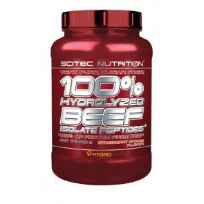 100% Hydrolyzed Beef Scitec Nutrition Delícia de Baunilha 900 g