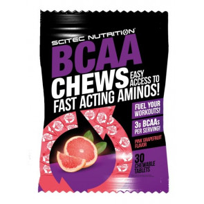 Scitec Nutrition Grapefruit BCAA Chews