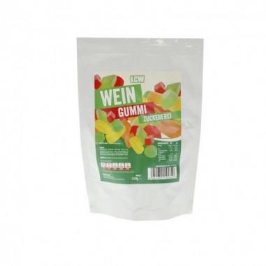 LCW low carb Gummies mistura do geometria frutada 250 g