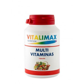 Pack 3 x 2 multivitamínico 100 Cápsulas Multimineral Vitalimax Nutrition