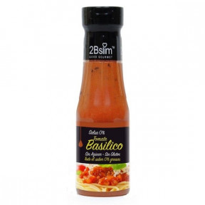2bSlim 0% Tomato Sauce with Basil 250 ml
