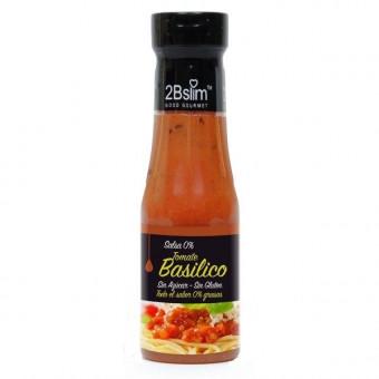 Salsa de Tomate con Albahaca 0% 2bSlim 250ml