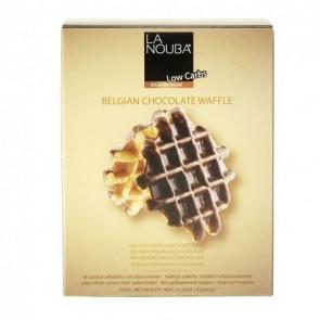 Waffles Belgas com Chocolate Low Carb La Nouba 180 g