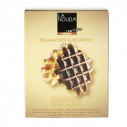 Waffles Belgas com Chocolate Low Carb La Nouba 180 g
