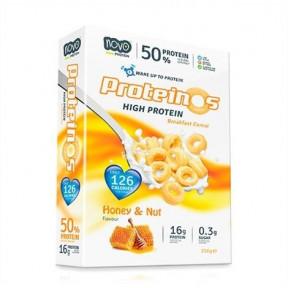 Cereales Proteicos Proteinos Sabor Miel y Nueces 256g de Novo Nutrition