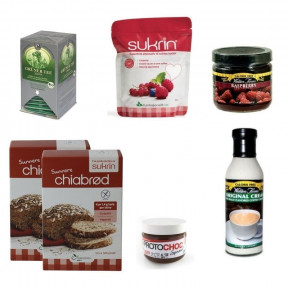 Pack Tradicional de desayuno Sin Carbohidratos 6 productos