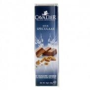Barra de chocolate de leite Cavalier Speculaas 42 g