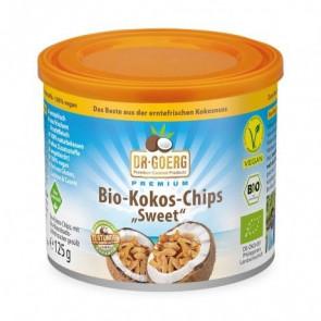 Chips de Coco Torrado Orgânico Dr. Goerg 125 g