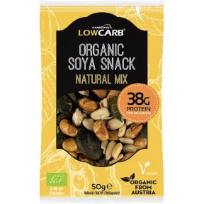 Protein Snack Mix de Semillas y Soja Orgánica Natural CarbZone 50 g