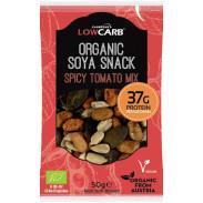 Protein Snack Mix de Sementes e Soja Tomate Orgânico CarbZone 50 g