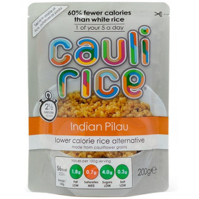 Arroz de Coliflor Sabor Pilau Indio Cauli Rice 200 g