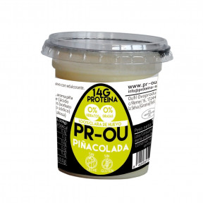 Flan de clara de huevo PR-OU Piña Colada 120g