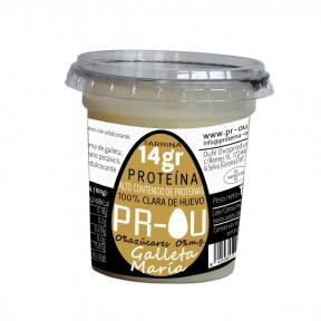 Flan de clara de huevo PR-OU Galleta María 120g