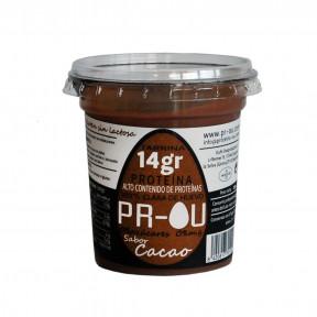 Flan de clara de huevo PR-OU Cacao 120g