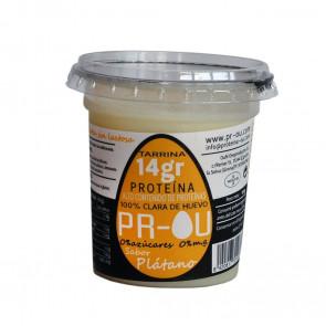 Flan de clara de huevo PR-OU Plátano 120g