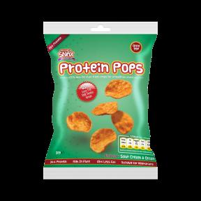 Protein Pops Crema Agria y Cebolla  30g