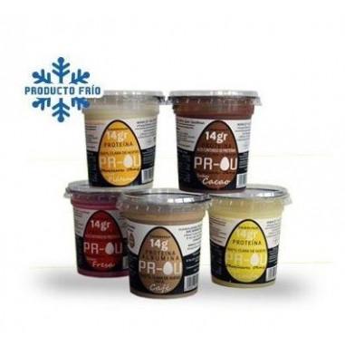 Pack multi sabor de sobremesa de clara de ovo PR-OU 11 x 120g