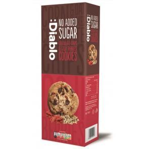 Cookies con Pepitas de Chocolate y bayas de goji sin azúcar añadido :Diablo 135g