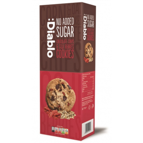 :Diablo no added sugar Chocolate chip & goji berries cookies 135g