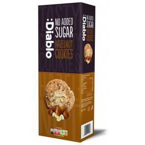Cookies com Avelãs sem adição de açúcar :Diablo 135g