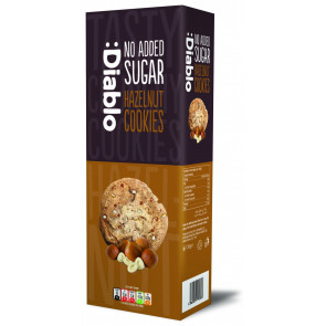 :Diablo no added sugar hazelnut cookies 135g