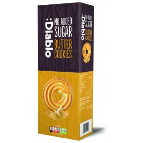 Cookies de mantequilla sin azúcar añadido :Diablo 135g