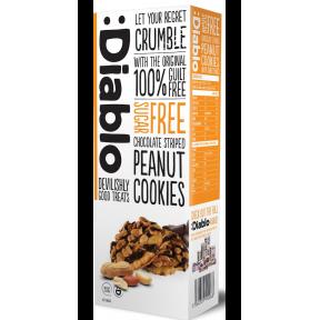 Cookies com amendoim revestido de chocolate sem açúcar :Diablo 150g