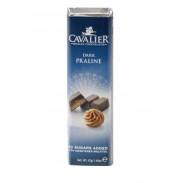 Barrita de chocolate negro Cavalier con praliné 42 g