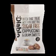 Caramelos sabor capuchino y crema sin azúcar :Diablo 75 g