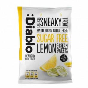 Caramelo de limão e crema sem açúcar :Diablo 75g