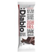 Tableta de chocolate negro sin azúcar :Diablo 85 g