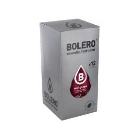 Pack 12 Sobres Bolero Drinks Sabor Uva Roja